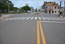 Sinalização de ruas garante maior segurança para pedestres