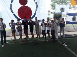 Mais de 20 alunos frequentam escolinha de Taekwondo em Palmitinho