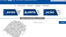 Estado retira alertas do Sistema 3AS de todas as regiões