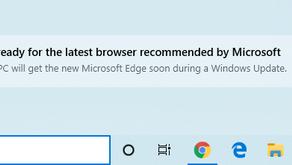 Microsoft Edge Browser :(