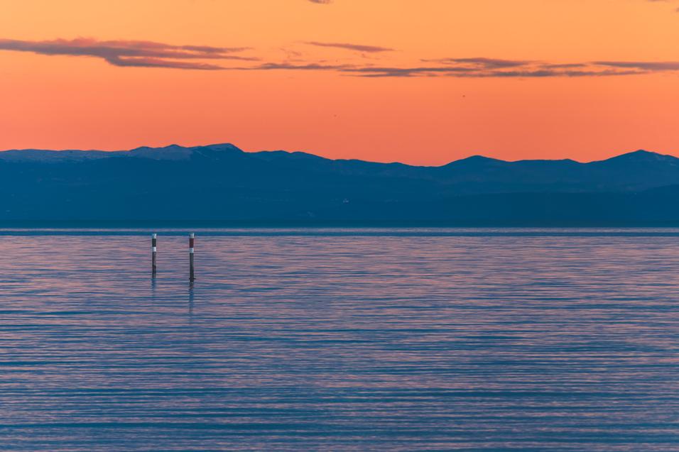 lignano sabbiadoro tramonto