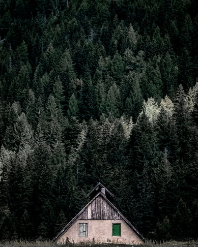 casetta di montagna