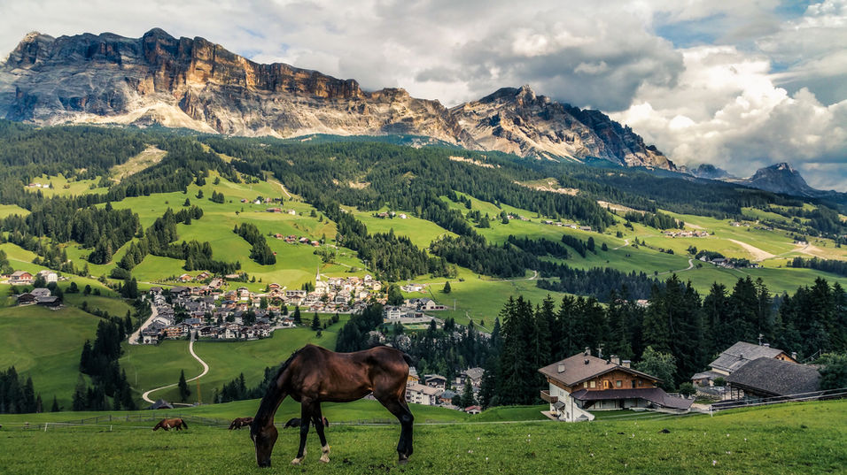 La valle paesaggio
