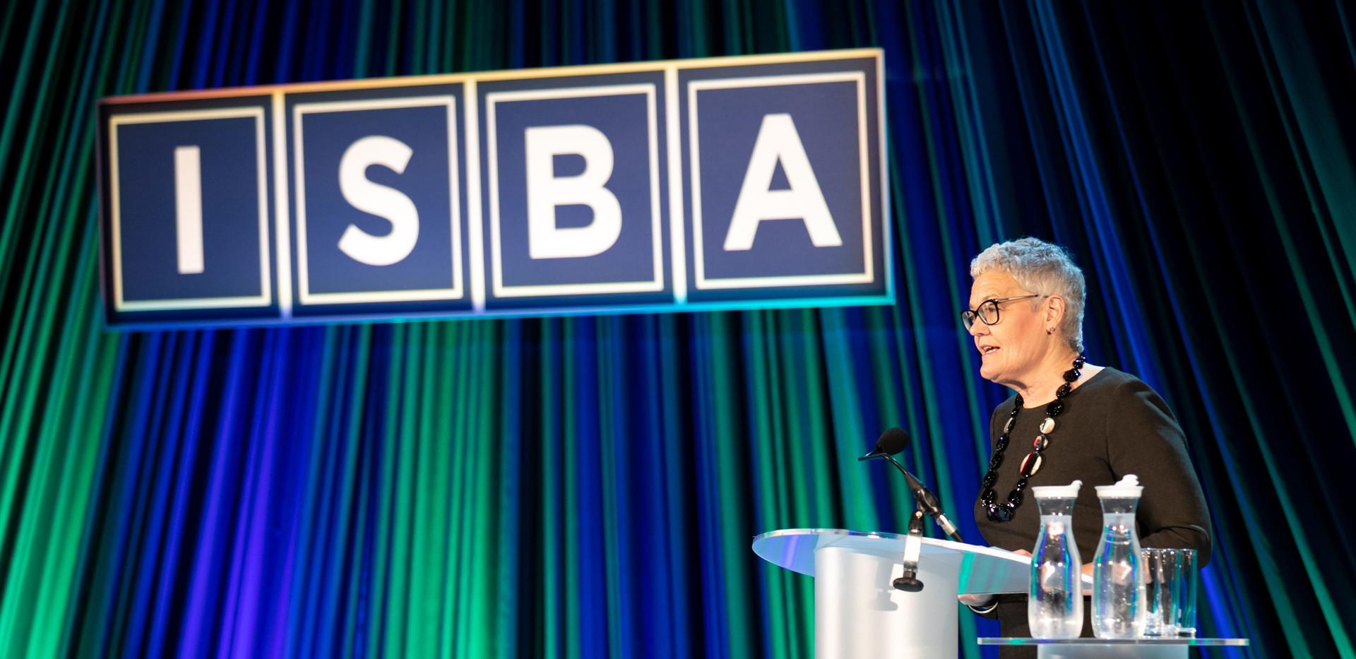 Elizabeth Fagan, ISBA President