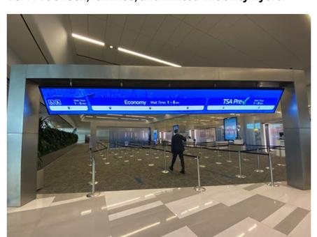 LGA and Synect Aim High with Terminal B Digital Signage