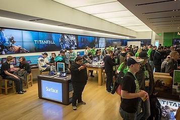 Launching Titanfall at Microsoft Store
