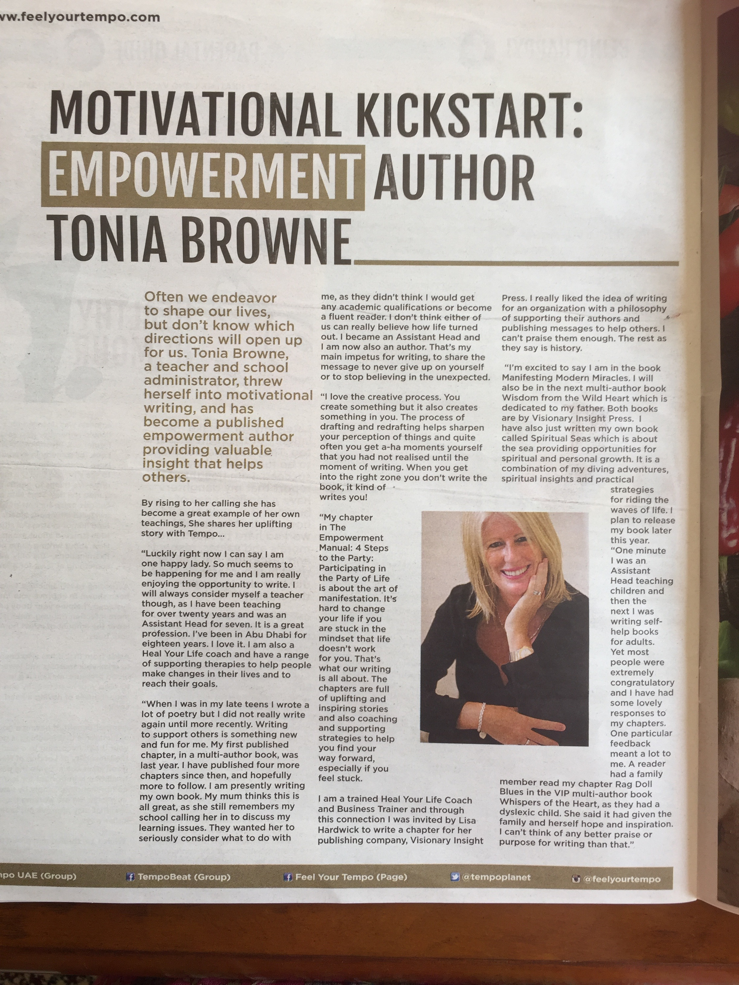 EMPOWERMENT AUTHOR