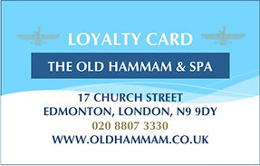 Old Hammam Loyalty Card