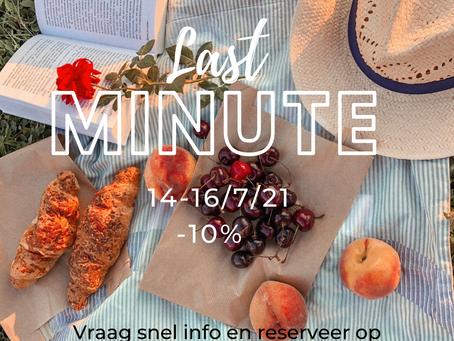Last-minute !