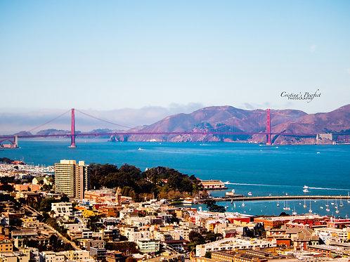 San Francisco 11X14 White Mat