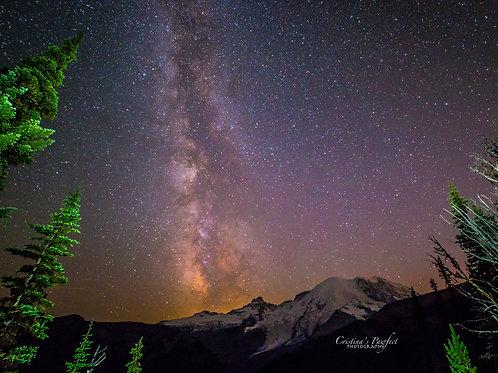 Sunrise Milky Way 11X14 White Mat