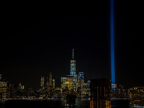NYC Tribute in Light 8X10 Mat