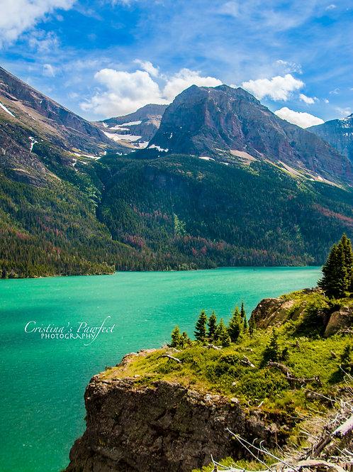 Glacier National Park 8X10 Mat