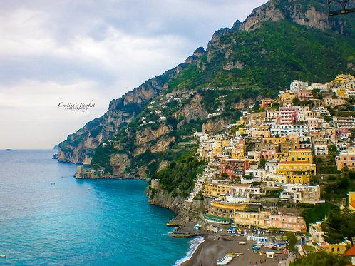 Amalfi Coast 8X10 Mat