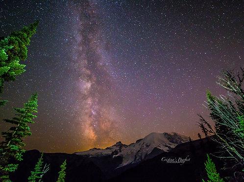 Sunrise Milky Way 8X10 Mat