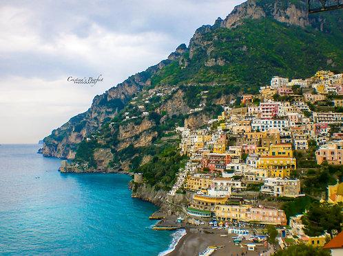 Amalfi Coast 11X14 White Mat