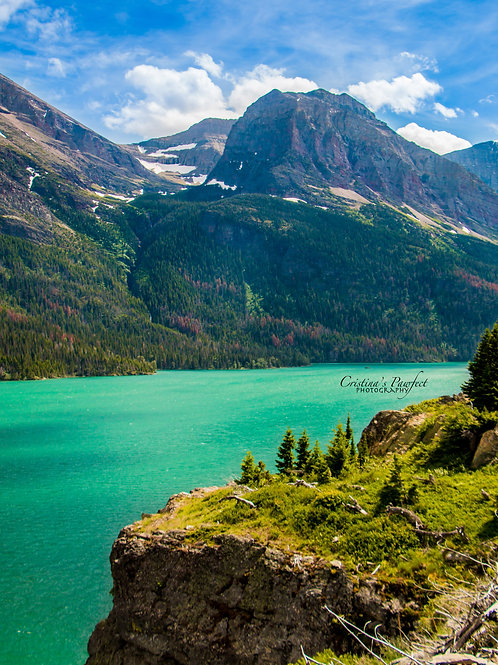 Glacier National Park 11X14 White Mat