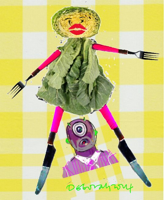 Cabbage woman