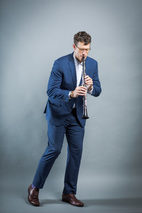 Jazz Clarinet- Gregory Agid- suit