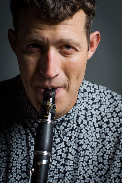 Jazz Clarinet- Gregory Agid- Close up