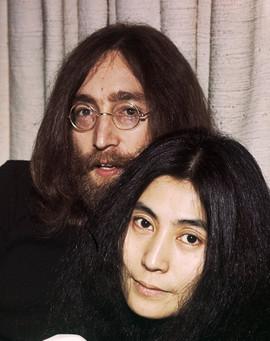 John Lennon & Yoko Ono, London 1969