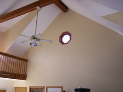 Interior Painting Cathedral Ceilings
