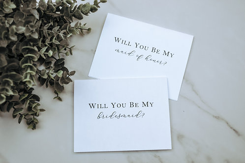 Will You Be My Cards - Chelsea Style
