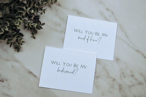 Will You Be My Cards - Mila Style