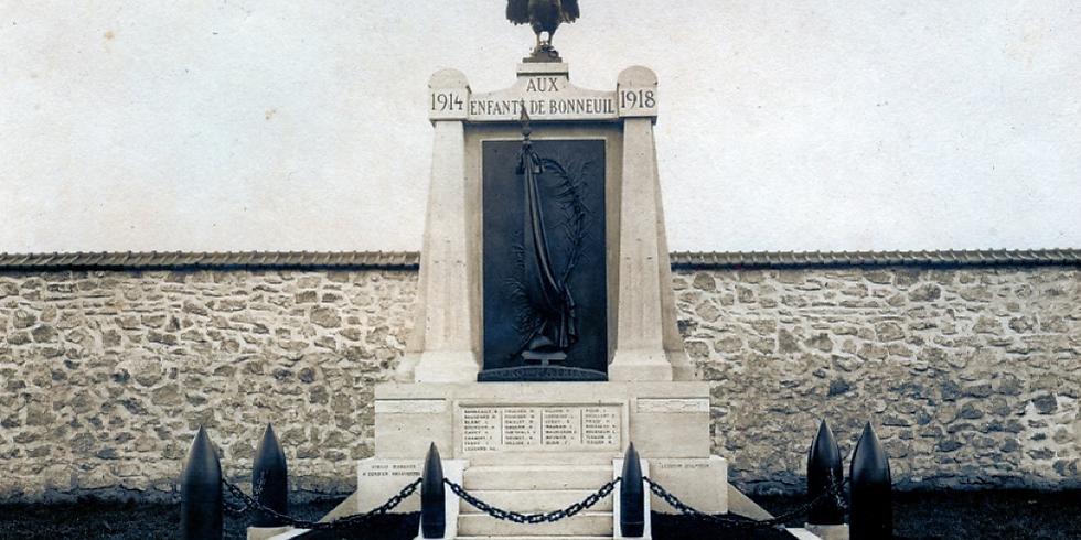 Cérémonie du centenaire de l'armistice du 11 novembre 1918