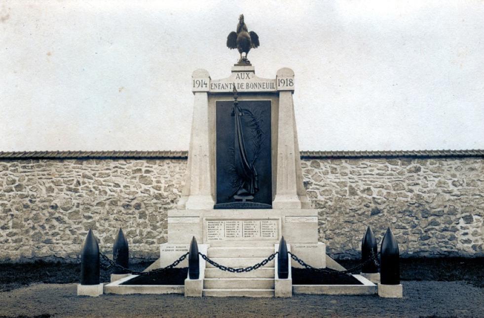 Photos du monument aux Morts de Bonneuil-sur-Marne