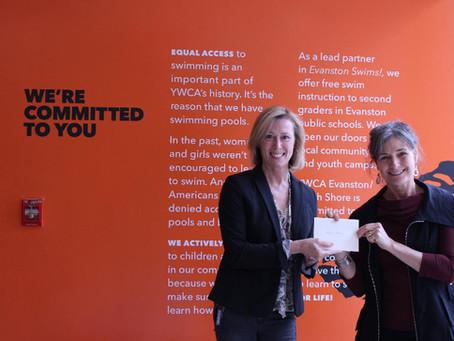 NEMC's successful initiative in support of the YWCA