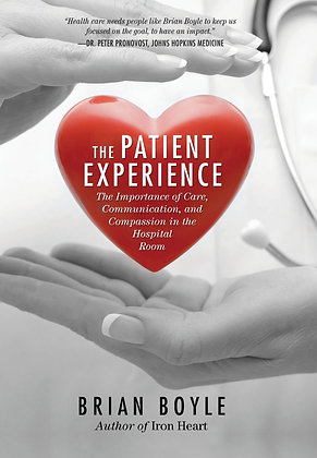 Signed copy of 'The Patient Experience' book
