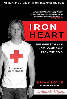 Signed copy of 'Iron Heart' book