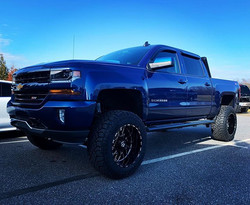 "Chevy 1500 with 7"" Rough Country Lift, 2"