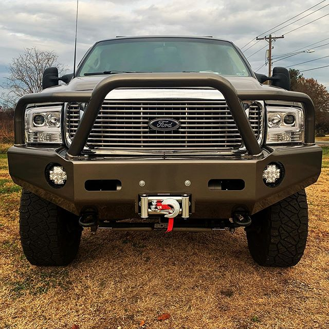 Ford Excursion with Buckstop Baja front