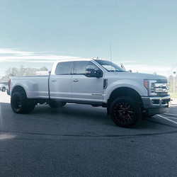 "2019 Ford F-350 with 20"" Fuel Mavericks"