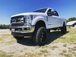 "2019 F250 with 6"" 4-link BDS lift, Fox S"