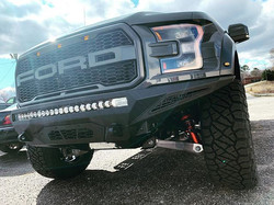 Ford Raptor with Addictive Desert Stealt