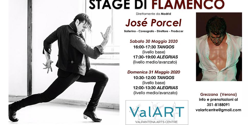 Stage di Flamenco con José Porcel