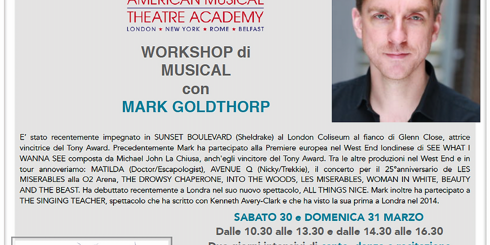 Workshop di Musical con MARK GOLDTHORP (1)
