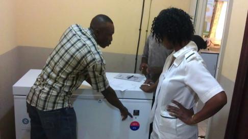 Staff Training - Solar Direct Drive Refrigerator
