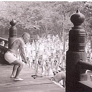 Nakamura Sensei Teaching Japanese Yoga