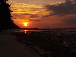 Sunset at Pantai Deere