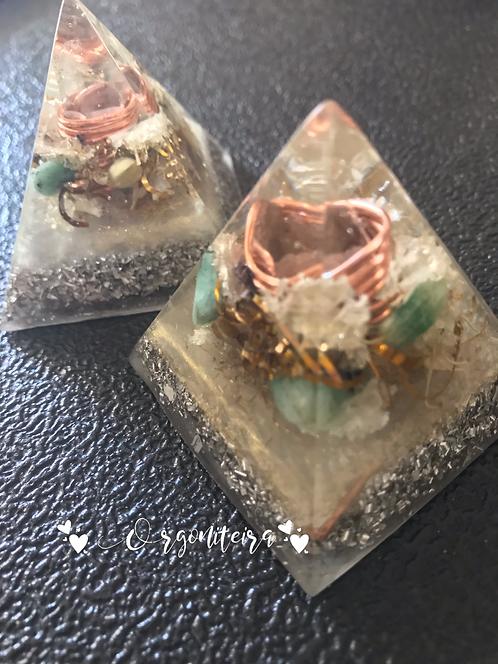 Orgonite Piramide Esmeralda