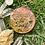 Medalhão ou amuleto orgonite Cubo de Metatron Turmalina negra