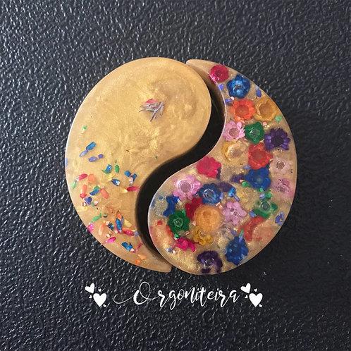 Orgonite Yin Yang Citrino
