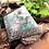 Orgonite Pirâmide Mini Queóps Amazonita com Quartzo rosa