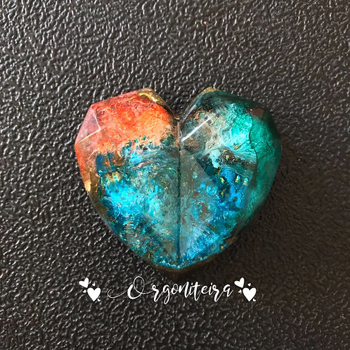Orgonite coração 3D Sodalita
