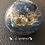 Orgonite Esfera Ágata azul