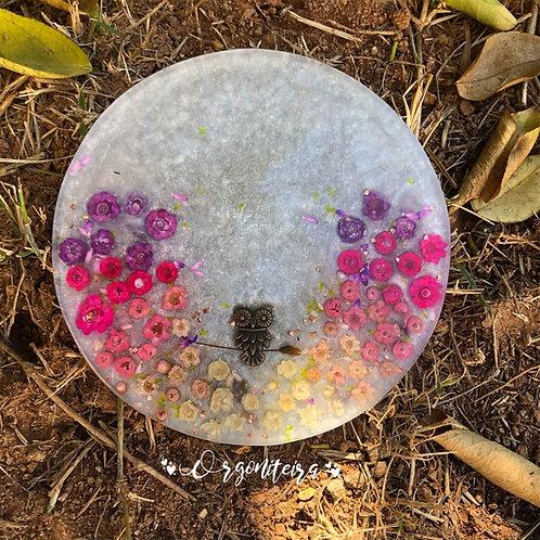 Orgonite Energizador para água Ametista com Quartzo rosa